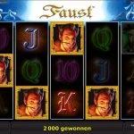 Faust Novoline Gewinn